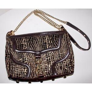 Rebecca Minkoff Animal Print Leather Crossbody Bag